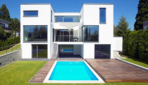 Axial architekten projekt haus r 2 for Modernes haus projekte